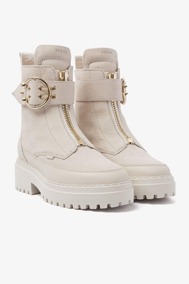 Nubikk fae ray desert leather boots beige - Nubikk