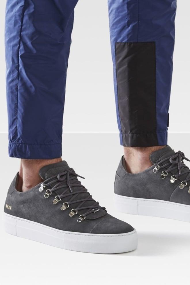 Nubikk jagger classic nubuck sneakers grijs - Nubikk