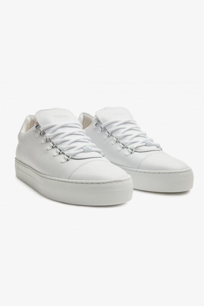 Nubikk jagger classic white leather sneaker - Nubikk