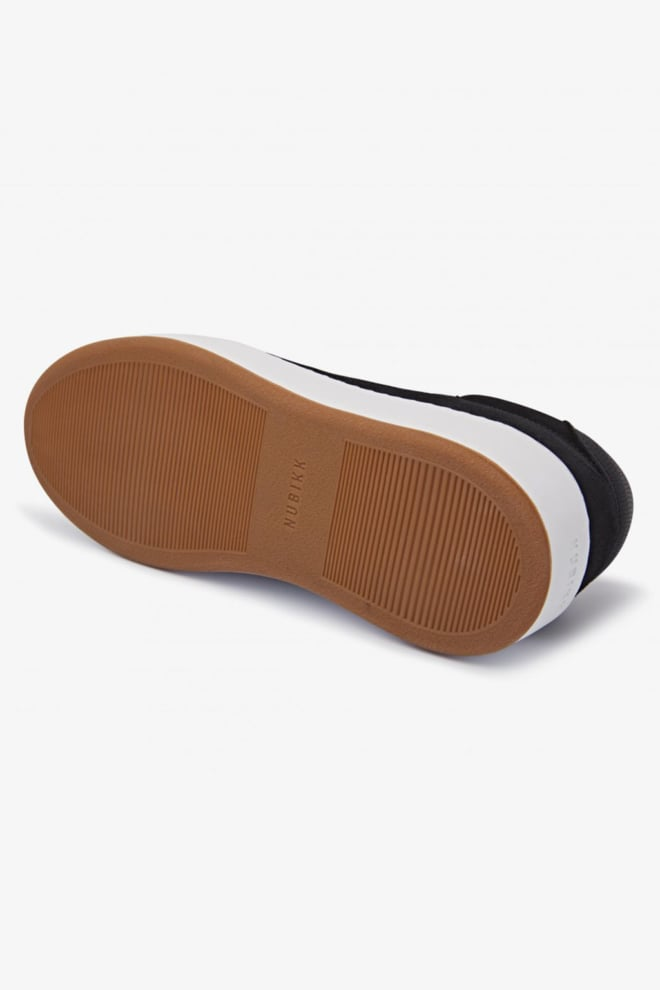 Nubikk jiro jade black suede sneaker - Nubikk