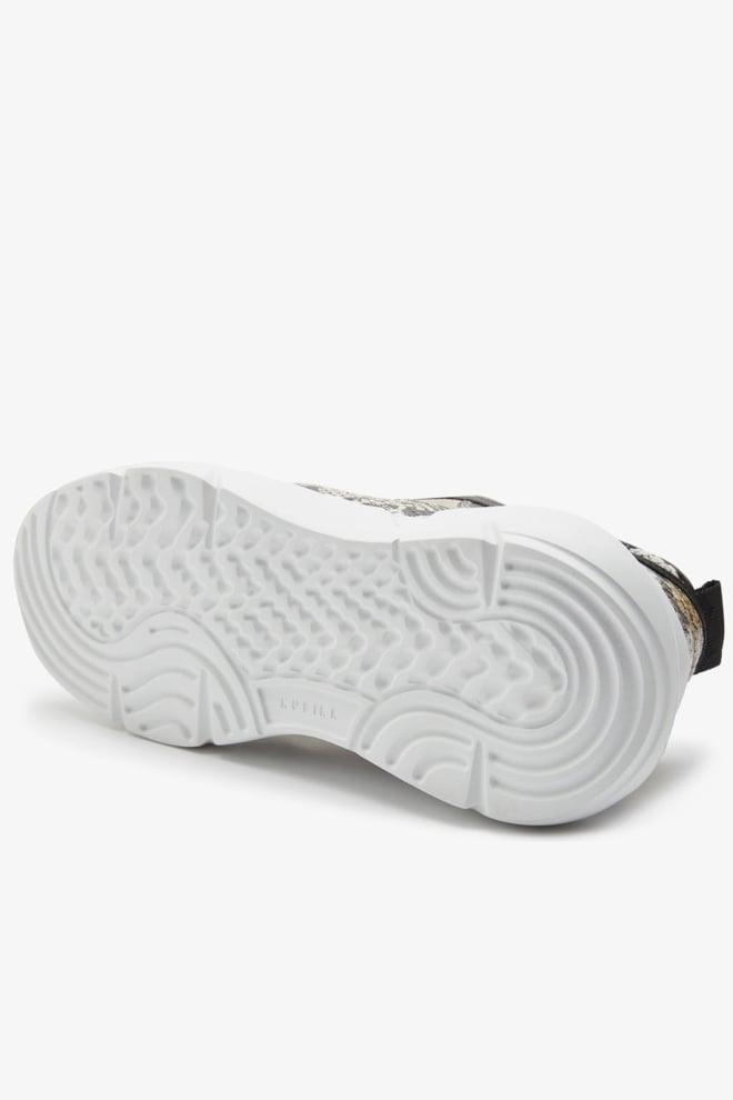 Nubikk lucy boulder damessneakers beige python - Nubikk