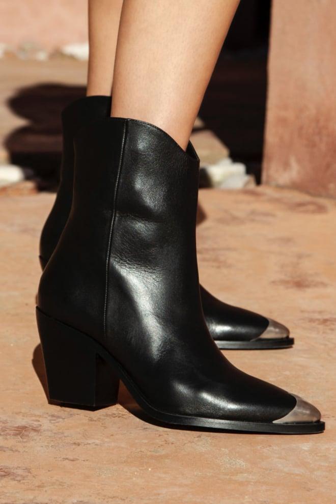Nubikk romee rose black leather - Nubikk