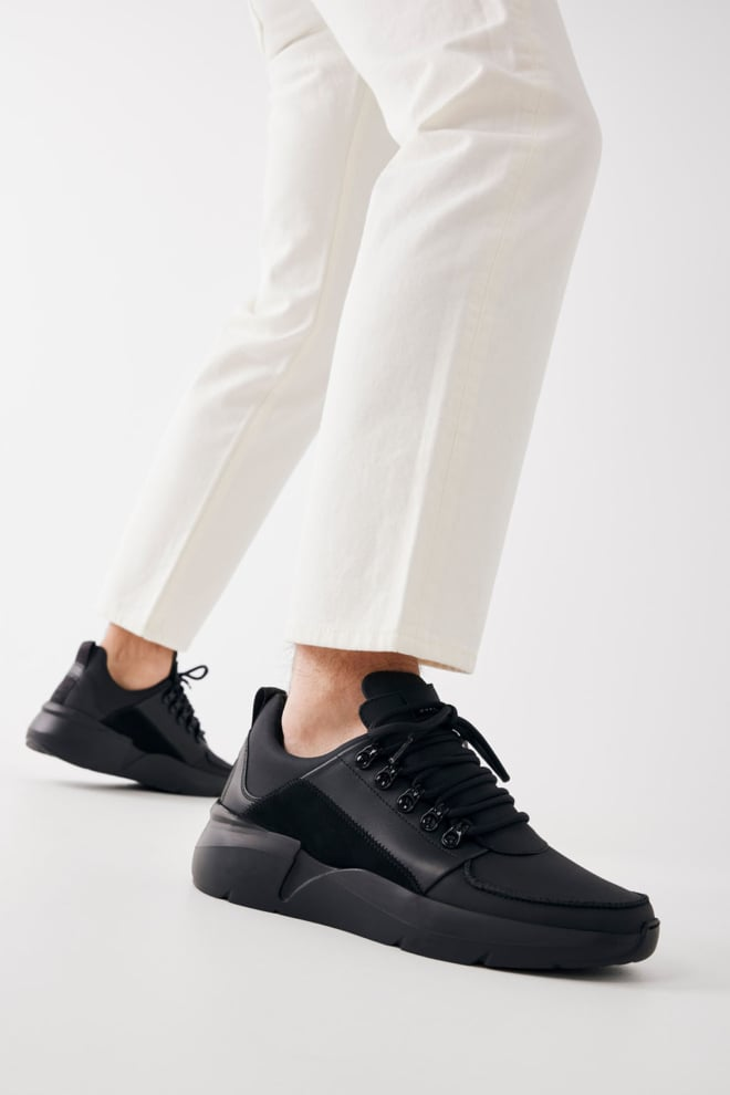Nubikk roque royal sneakers zwart - Nubikk