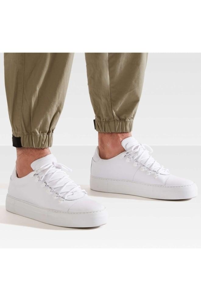 Nubikk jagger classic calf sneaker wit - Nubikk