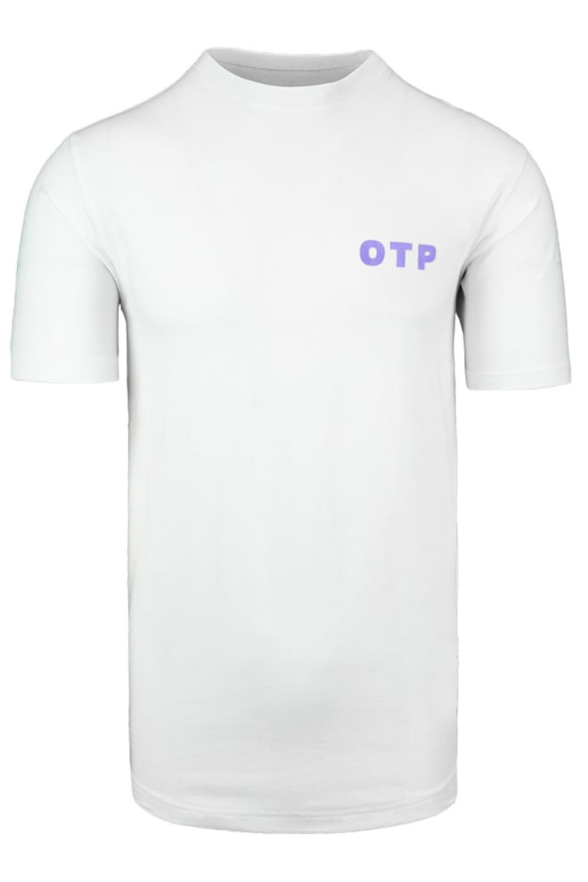 Off the pitch script tee white - Off The Pitch