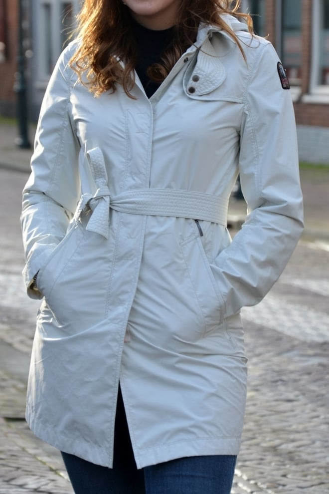 Parajumpers avery jas white cream - Parajumpers