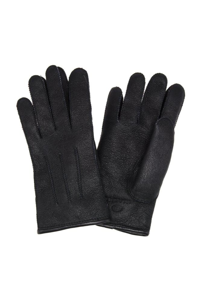 Parajumpers shearling handschoenen zwart - Parajumpers
