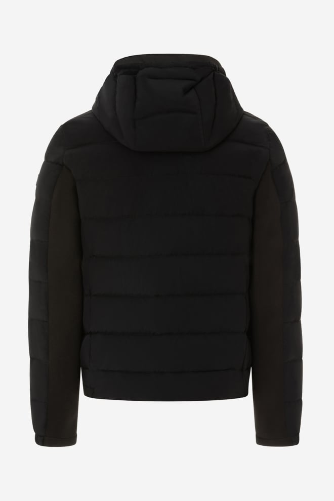 Peuterey slim down jacket in nylon and jersey - Peuterey
