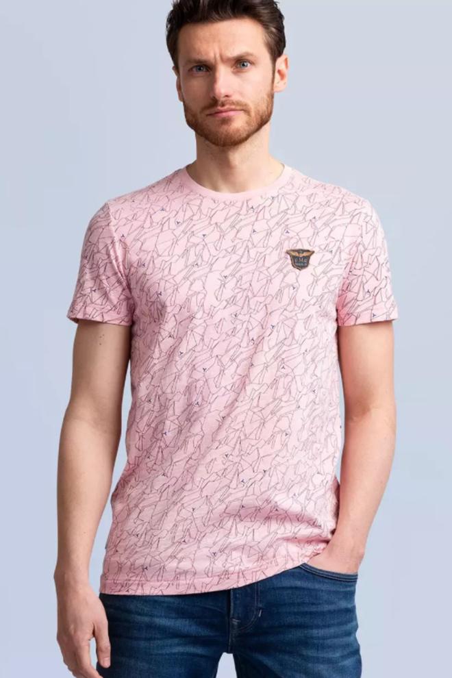 Pme legend t-shirt roze - Pme Legend