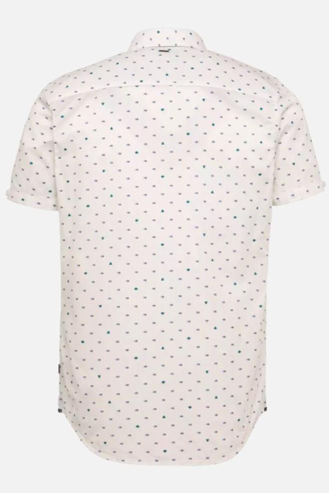 Pme legend short sleeve shirt poplin wit - Pme Legend