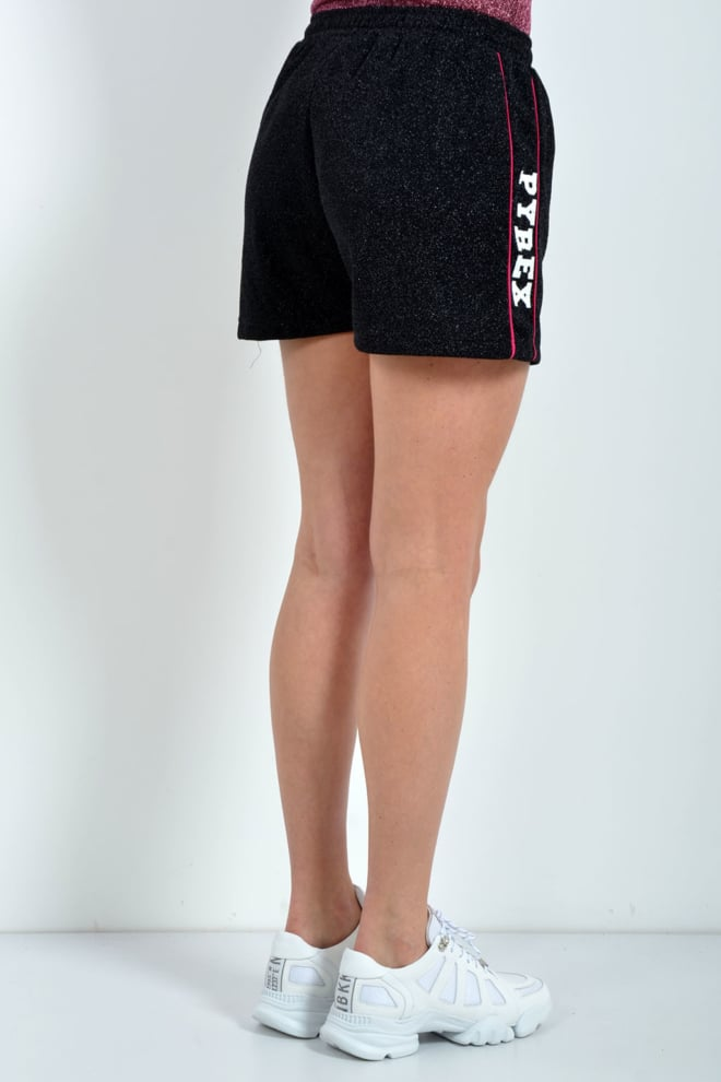 Pyrex shorts lurex zwart - Pyrex