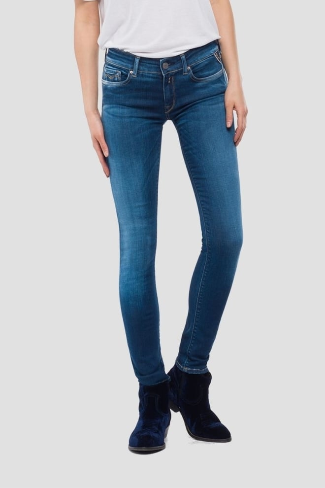 Replay skinny fit hyperflex luz jeans - Replay