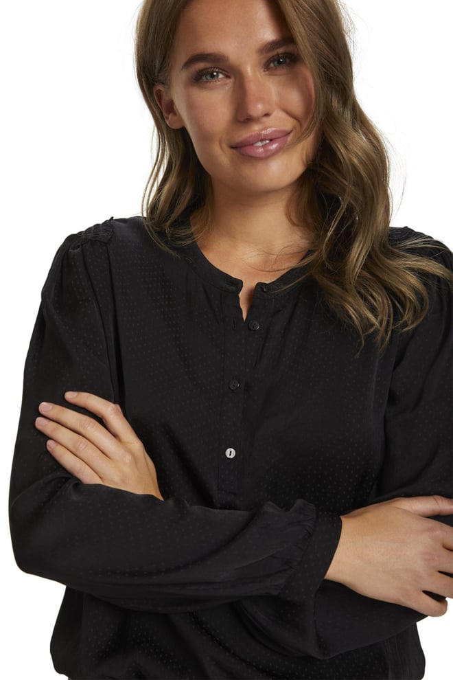 Saint tropez esrasz blouse black - Saint Tropez