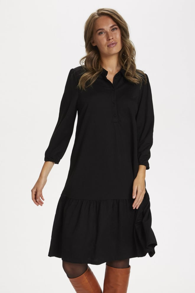Saint tropez ellianasz jurk zwart - Saint Tropez