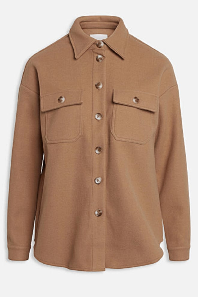 Sisters point vaila-sh latte overshirt - Sisters Point