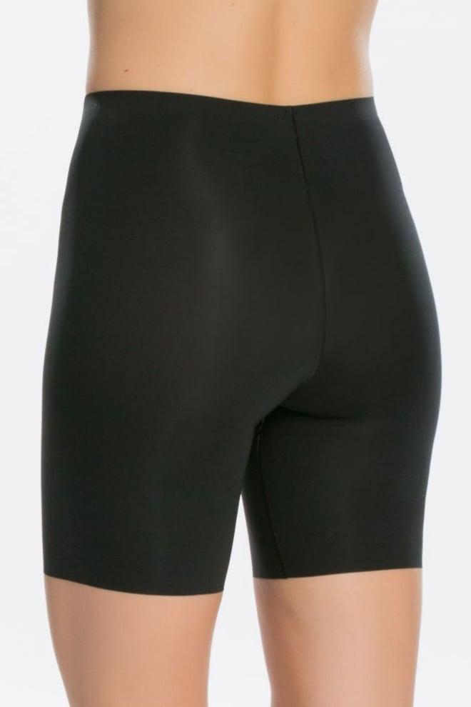 Spanx thin mid tigh short zwart - Orobluandspanx