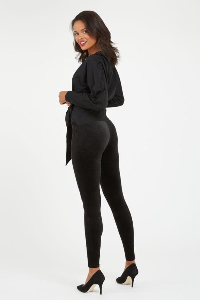 Spanx velvet legging zwart - Orobluandspanx