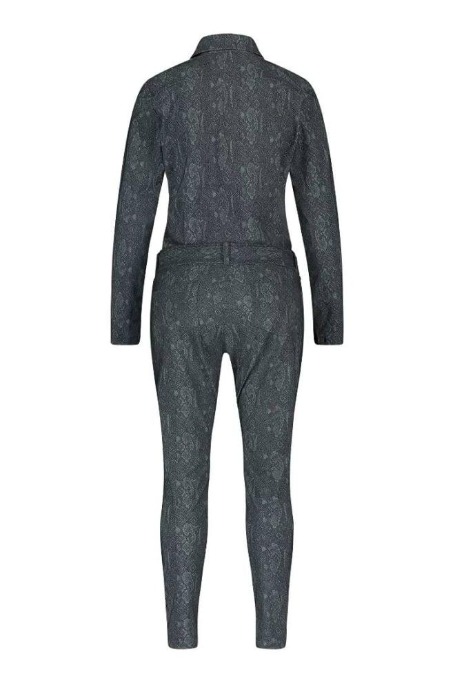 Studio anneloes angelique zipper snake jumpsuit groen - Studio Anneloes