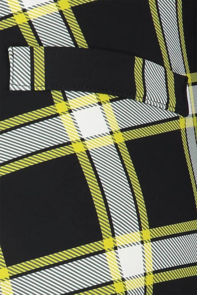 Studio anneloes annet check trousers zwart - Studio Anneloes