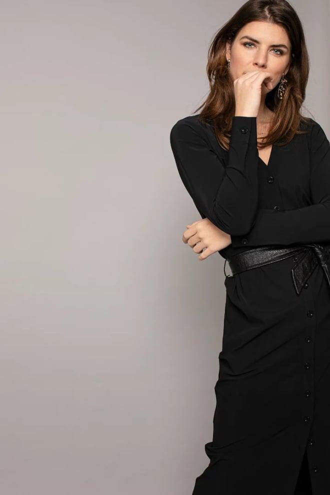 Studio anneloes cintia max dress zwart - Studio Anneloes