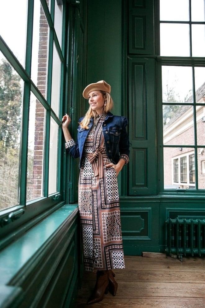 Studio anneloes ciss patchwork jurk - Studio Anneloes