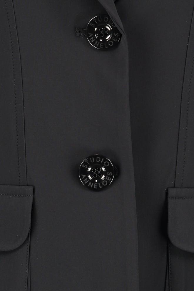 Studio anneloes clean blazer zwart - Studio Anneloes