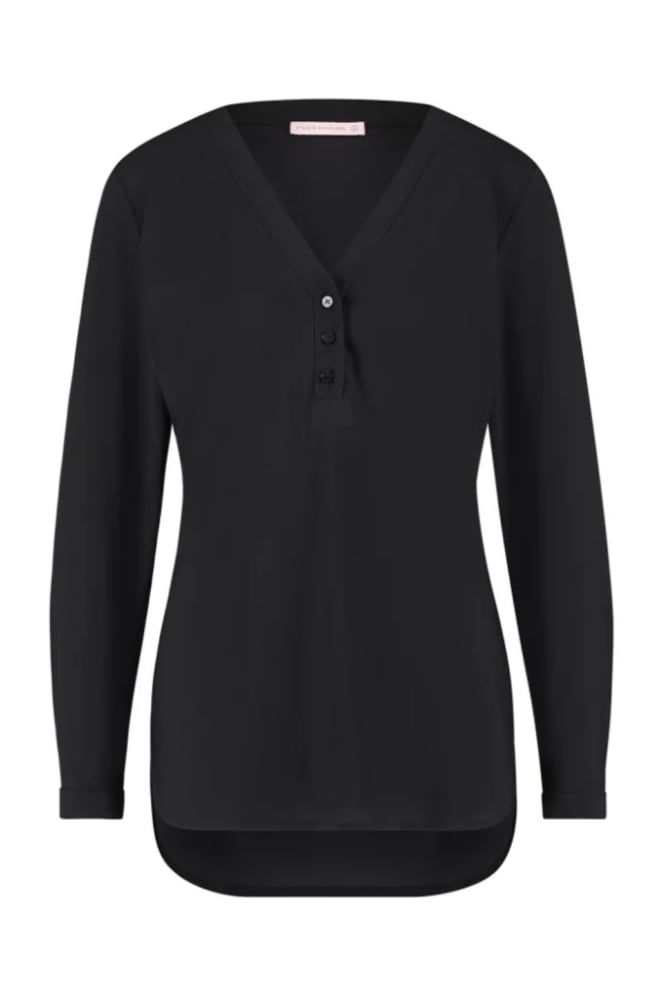 Studio anneloes evi basic blouse zwart - Studio Anneloes