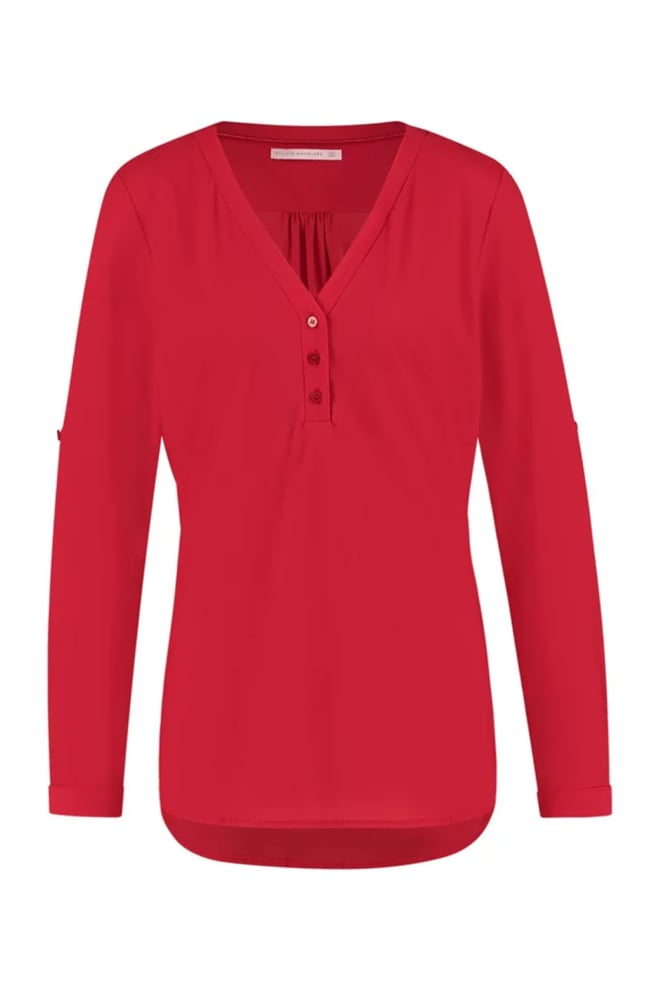 Studio anneloes evi blouse rood - Studio Anneloes