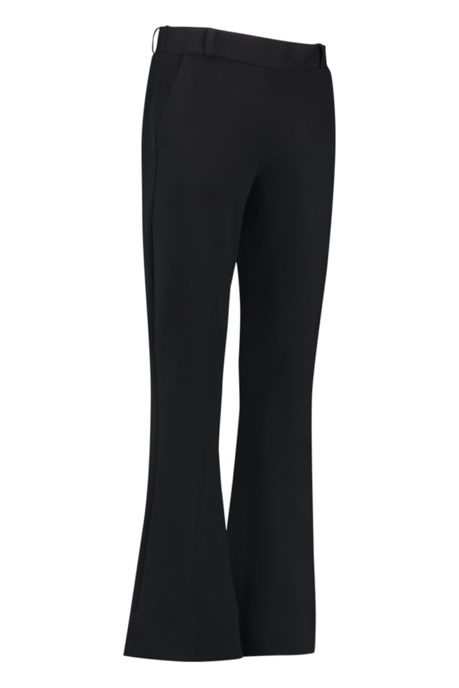Studio anneloes flair bonded trousers black - Studio Anneloes