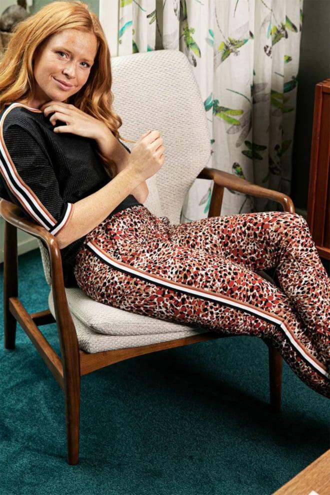 Studio anneloes flo animal trousers - Studio Anneloes