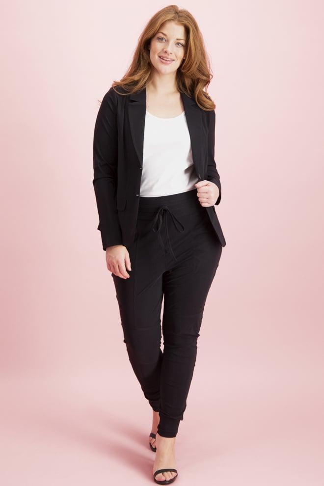 Studio anneloes franka trousers black - Studio Anneloes