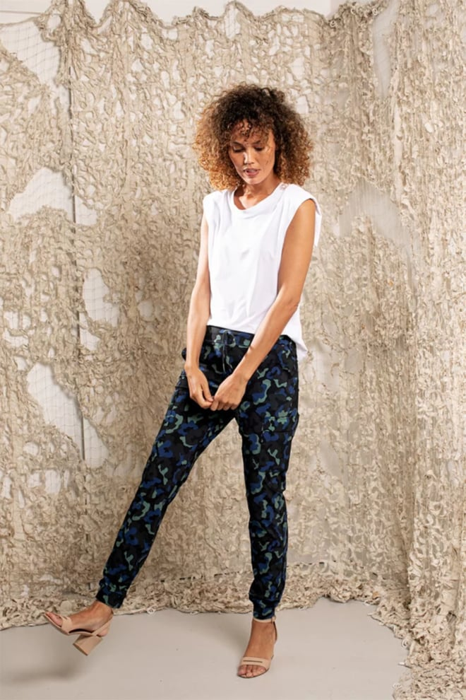 Studio anneloes loose fit cargo trousers - Studio Anneloes