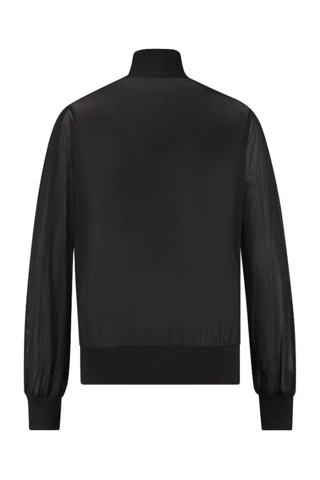 Studio anneloes marlon mesh shirt zwart - Studio Anneloes