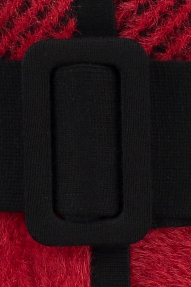 Studio anneloes martine check cardigan red/black - Studio Anneloes