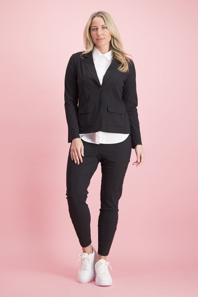 Studio anneloes new franka trousers black - Studio Anneloes