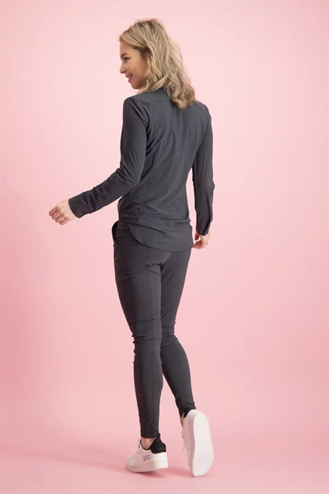 Studio anneloes poppy blouse donker grijs - Studio Anneloes