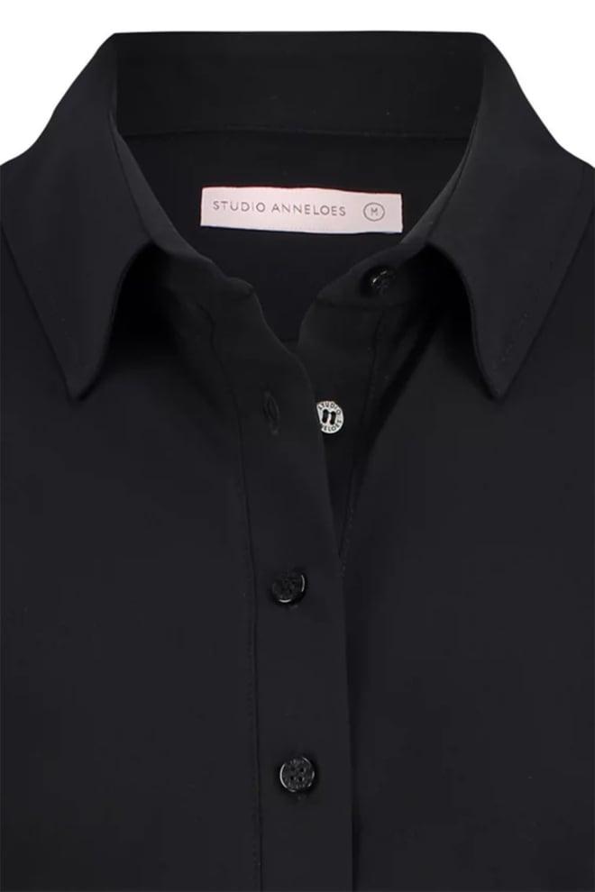 Studio anneloes poppy blouse zwart - Studio Anneloes