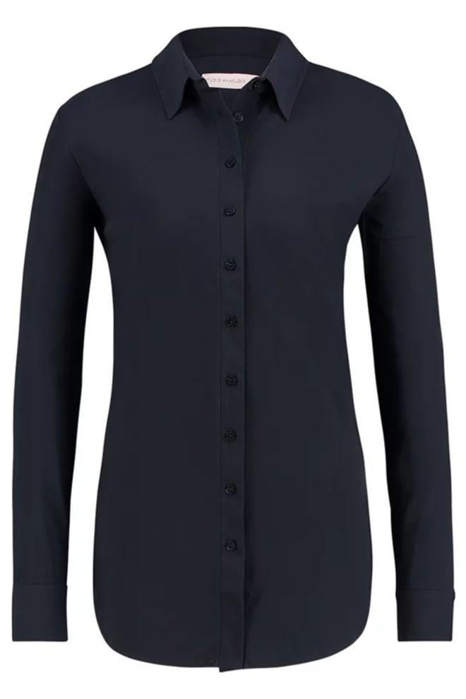Studio anneloes poppy blouse blauw - Studio Anneloes