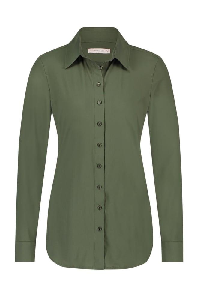 Studio anneloes poppy blouse groen - Studio Anneloes