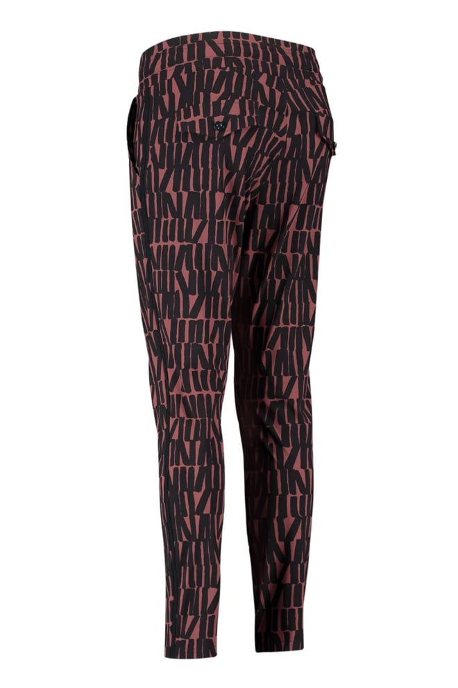 Studio anneloes road big letter trousers donkerblauw - Studio Anneloes