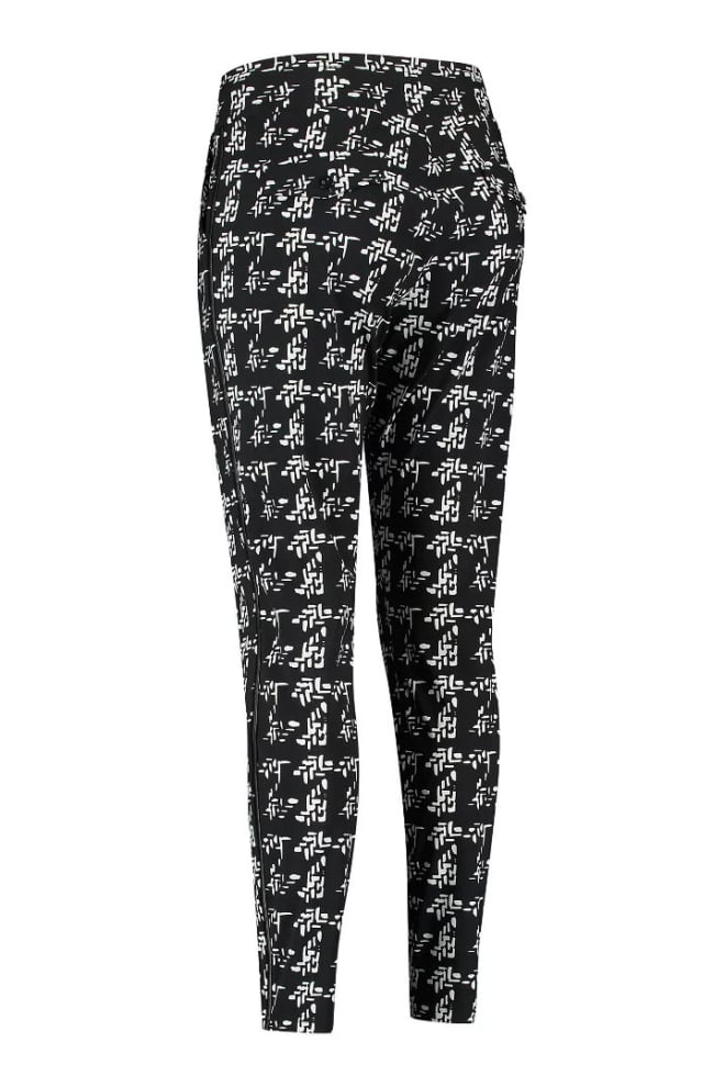 Studio anneloes road knit look trousers zwart - Studio Anneloes