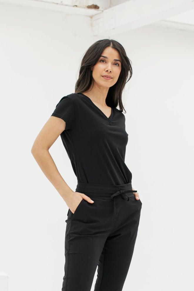 Studio anneloes roller shirt zwart - Studio Anneloes