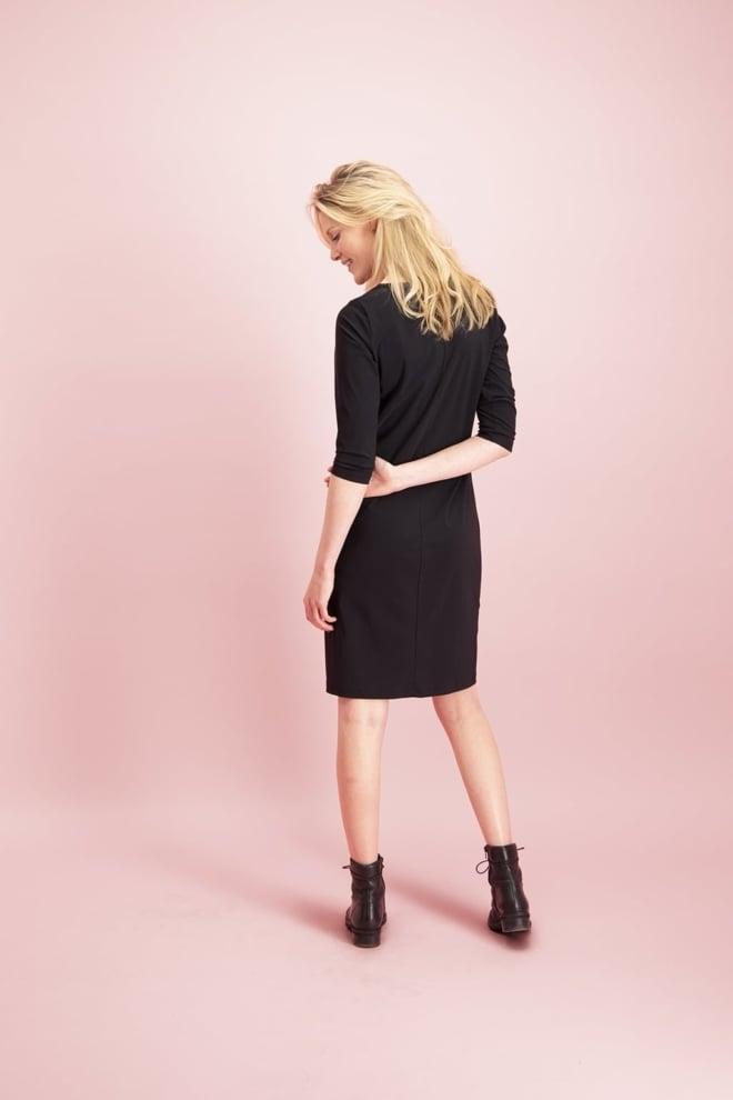 Studio anneloes simplicity jurk zwart - Studio Anneloes