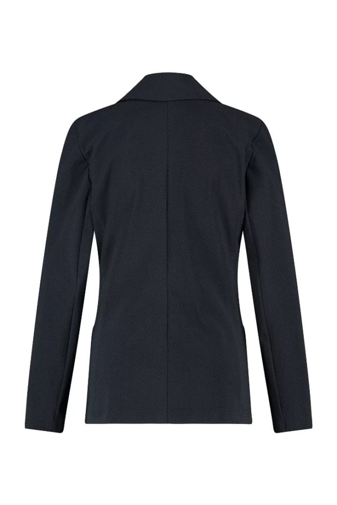Studio anneloes star cravat bonded blazer zwart - Studio Anneloes