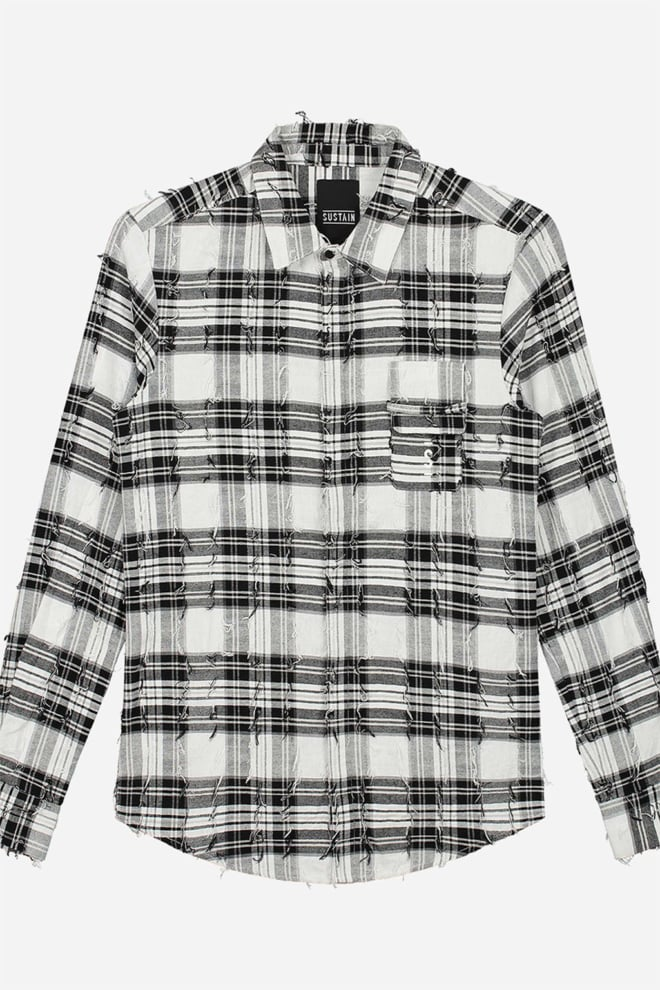 Sustain check logo shirt - Sustain