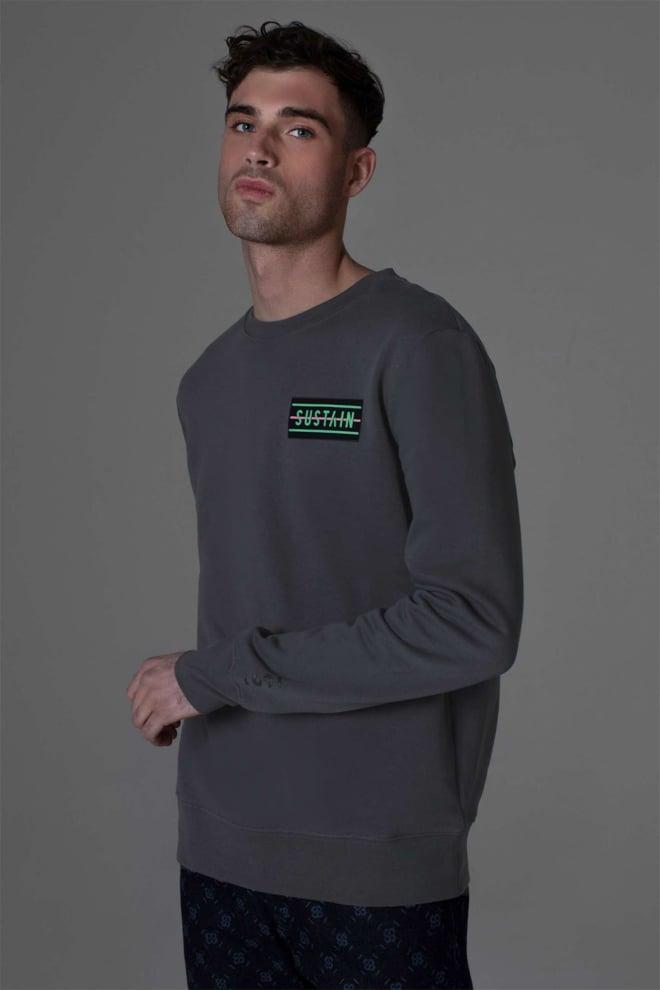 Sustain angel propaganda loose fit sweater - Sustain