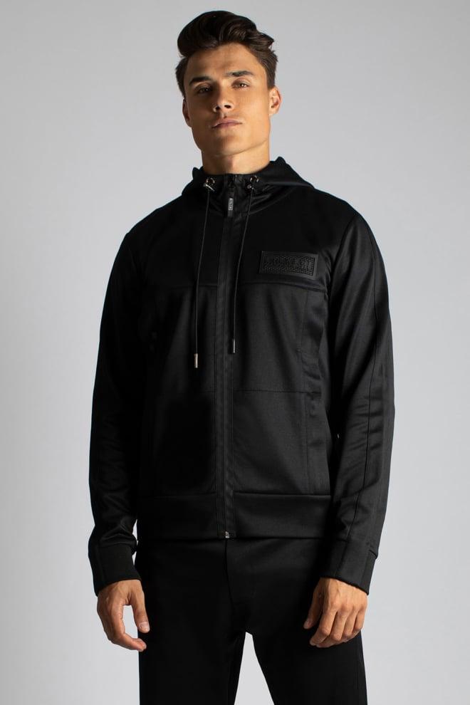 Sustain logo hooded track jacket zwart - Sustain