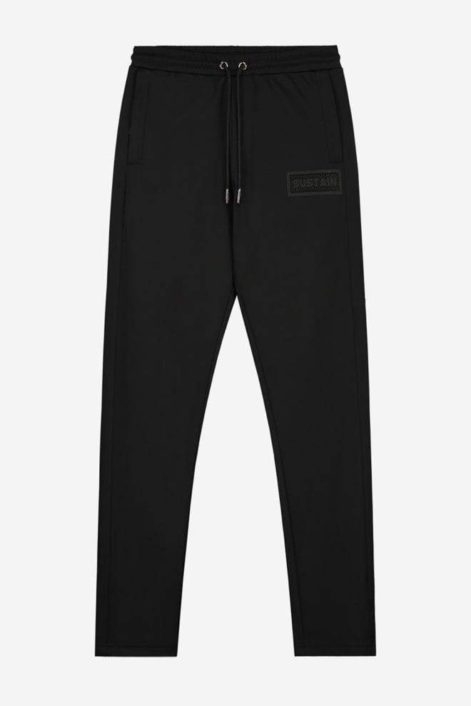 Sustain straight fit track pants zwart - Sustain