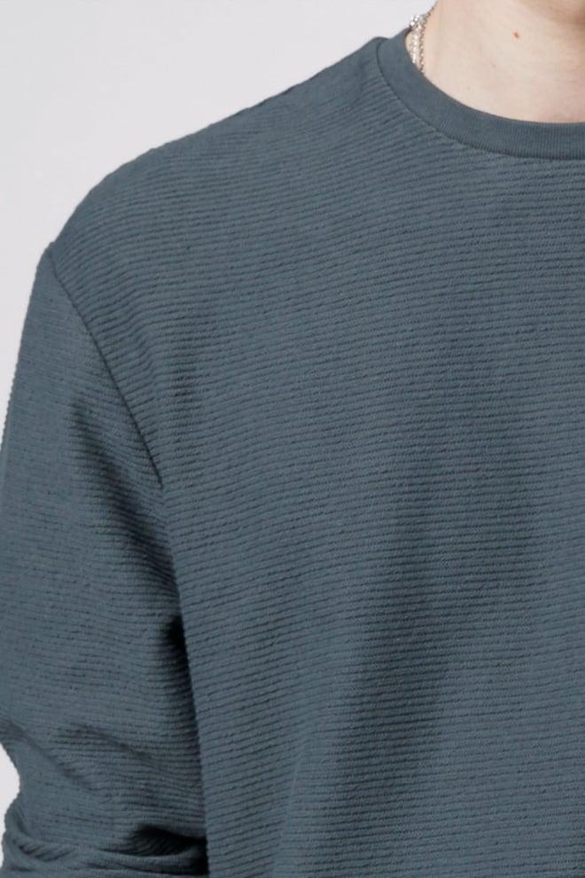 Tigha aitor sweatshirt asphalt - Tigha
