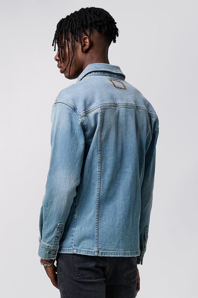 Tigha aiven jacket light blue - Tigha
